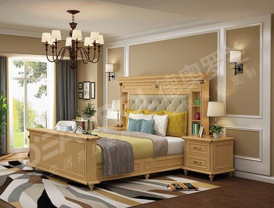 定制全铝卧室床